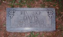 Rev James K. Polk Davis