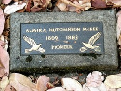 "Almira ""Myra"" <I>Hutchinson</I> McKee"