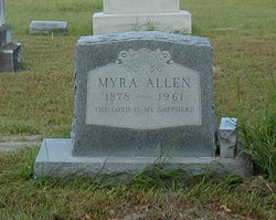 Myra <I>Vardiman</I> Allen