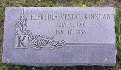 Elfredia <I>Vestal</I> Kinkead
