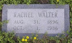 Rachel <I>Cox</I> Walter