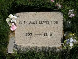 Eliza Jane <I>Lewis</I> Fish