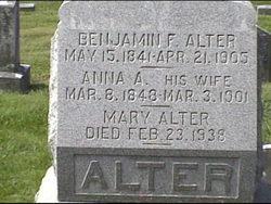 Benjamin Franklin Alter