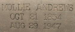 Mollie <I>Langston</I> Andrews