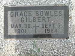 Grace Bowles <I>Bowles</I> Gilbert
