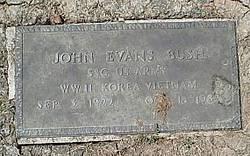 John Evans Bush