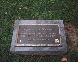 Mae <I>Joyce</I> Rabbitt