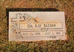 Ida Kay Baeder