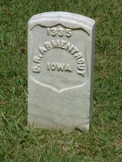 Pvt Daniel R. Armentrout