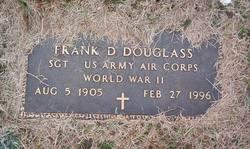 Sgt Frank D Douglass