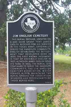 Jim English Cemetery