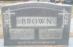 Lola Marie <I>Butler</I> Brown