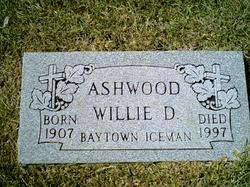 "Willie Dee ""Bill"" Ashwood"