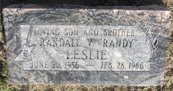 Randall V Leslie
