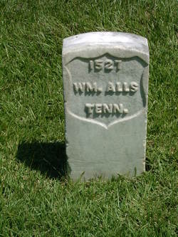 Pvt William Alls