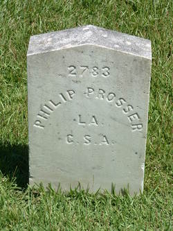 Pvt Phillip Prosser
