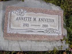 Annette M Kniveton