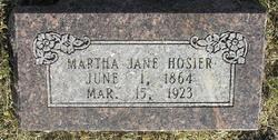 Martha Jane Hosier