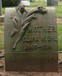 Clara W. <I>Patschke</I> Uhl