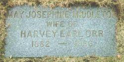 May Josephine <I>Middleton</I> Orr