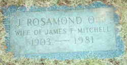 J. Rosamond <I>Orr</I> Mitchell