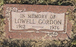 Lowell Gordon