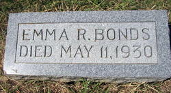Emma R. <I>Cunningham</I> Bonds