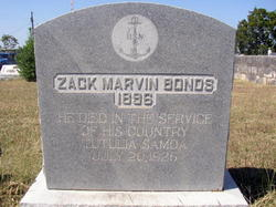 Zack Marvin Bonds