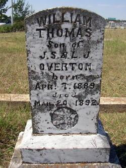 William Thomas Overton