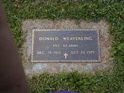 Pvt Donald J Weaverling