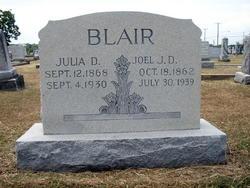 Julia D. <I>Smith</I> Blair