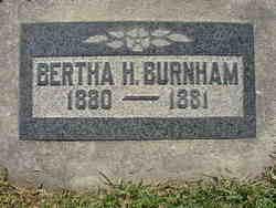Bertha Hannah Burnham