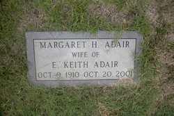 Margaret <I>Holland</I> Adair
