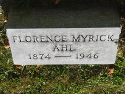 Florence Reid <I>Myrick</I> Ahl