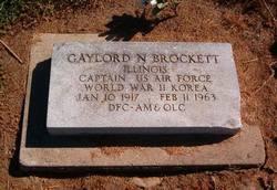 Capt Gaylord N Brockett