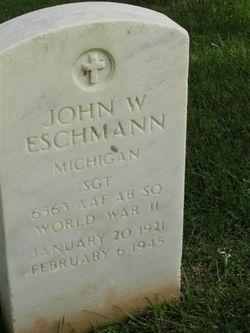 John W Eschmann