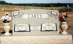 Margrette E. <I>?</I> Carey