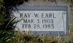 Ray Welling Earl