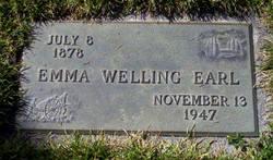 Emma Lucinda <I>Welling</I> Earl