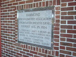 Hammond Indiana Zip Code Map.Kneseth Israel Cemetery In Hammond Indiana Find A Grave Cemetery