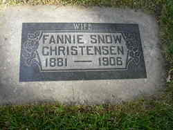Fannie <I>Snow</I> Christensen