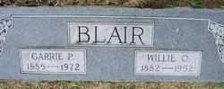 "William Oren ""Willie"" Blair"