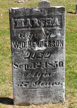 Martha <I>Watt</I> Henderson