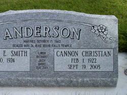 Cannon Christian Anderson