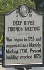 Deep River Friends Church Cemetery