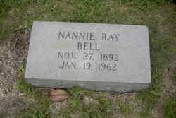 Nannie <I>Ray</I> Bell