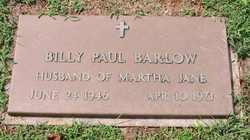 Billy Paul Barlow