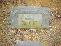 William H. Ridley