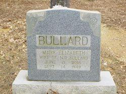 Mary Elizabeth <I>Pope</I> Bullard