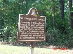 William Hodge Barnhill Homeplace